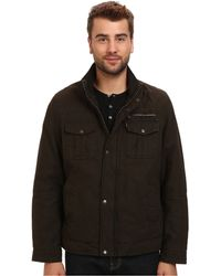 Levi's Washed Cotton Two-Pocket Jacket With Sherpa Lining - Lyst