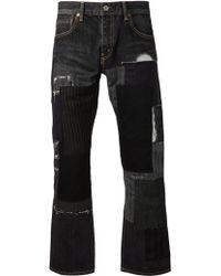 Junya Watanabe Short Jeans - Lyst