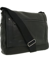"Kenneth Cole Reaction ""Busi-Mess Essentials"" - Single Gusset Flapover Messenger Bag - Lyst"