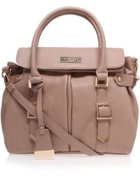 Carvela Kurt Geiger Chloe Nude Shoulder Bag - Lyst