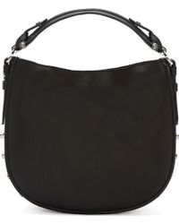 Givenchy Black Leather Obsedia Small Shoulder Bag - Lyst
