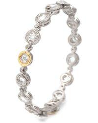 Coomi - Opera Crystal & Diamond Bangle Bracelet - Lyst