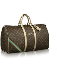Louis Vuitton Keepall 55 Mon Monogram - Lyst