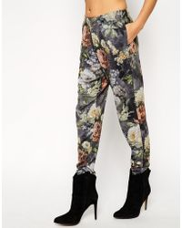 Asos Lounge Jogger In Winter Floral Print multicolor - Lyst