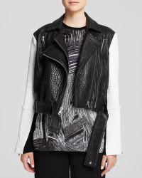 Helmut Lang Jacket - Forge Leather Biker - Lyst