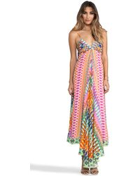 Camilla Loom Lovers Triangle Top Maxi Dress in Pink - Lyst