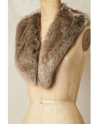 Helen Moore - Snowhill Faux Fur Collar - Lyst