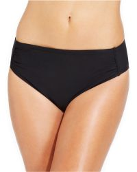 INC International Concepts - Ruched Hipster Bikini Bottom - Lyst