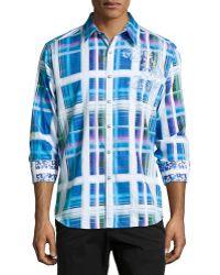 Robert Graham Seattle Plaid Sport Shirt - Lyst