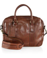 Polo Ralph Lauren Soft Leather Briefcase - Lyst
