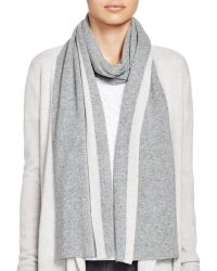 Theory - Alandrina Colour Block Cashmere Scarf - Bloomingdale's Exclusive - Lyst