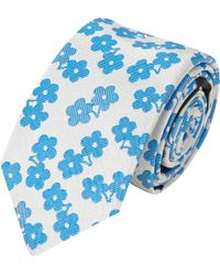 Burberry Prorsum - Flower Jacquard Tie - Lyst