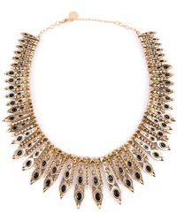 House Of Harlow Gypsy Feather Necklace - Lyst
