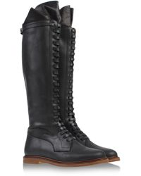 Mm6 By Maison Martin Margiela Tall Boots - Lyst