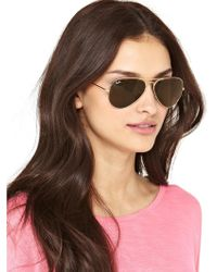 Ray-Ban Aviator Sunglasses - Lyst