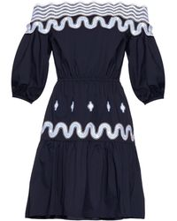 Peter Pilotto | Pallas Off-The-Shoulder Dress | Lyst