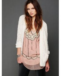 Free People Winters Child Cardigan - Lyst