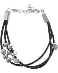 Alexander McQueen Skull Bead Bracelet - Lyst