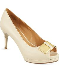 Nine West Beige Cora Courts - Lyst