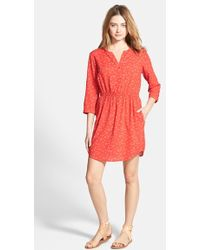 Ace Delivery Print Shirtdress - Lyst