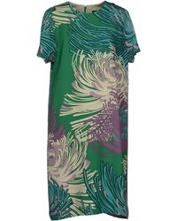 Gucci Green Knee-length Dress - Lyst