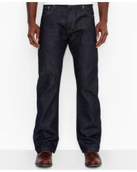 Levi's 517 Bootcut Slim Fit Rigid Jeans - Lyst