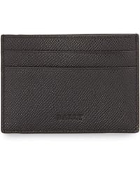 Bally Baclipo Money Clip Card Case Black - Lyst