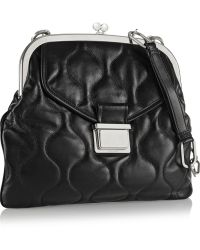 Miu Miu Quilted Leather Shoulder Bag - Lyst
