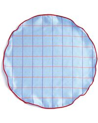 Edward Armah - Polka Dot And Check Reversible Pocket Circle - Lyst
