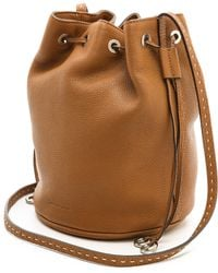 Michael Kors Collection Julie Small Drawstring Bag Luggage - Lyst