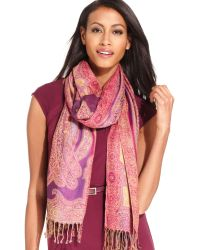Collection Xiix Paisley Shimmer Wrap - Lyst