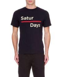 Saturdays Surf NYC Saturdays Bar T-Shirt - For Men - Lyst