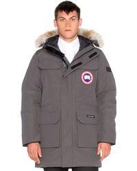 canada goose expedition coyote trim parka jacket