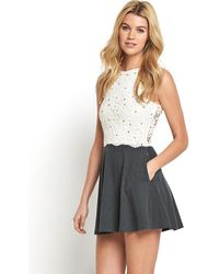 Superdry Coco Skater Dress - Lyst
