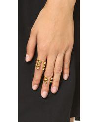 Joomi Lim | Dot And Dash Sphere Ring Set - Gold | Lyst