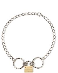Rodarte Padlock Chain Necklace - Lyst