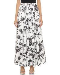 Haute Hippie Ball Gown Skirt - Swan/Black - Lyst