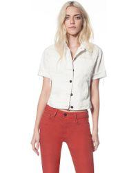 Genetic Los Angeles The Blondie Short Sleeve Jacket - Lyst