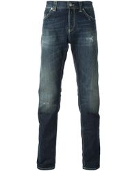 Dondup Lucky Slim Fit Jeans - Lyst