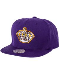 ... coupon mitchell ness the los angeles kings logo snapback hat lyst 61ec0  8c159 6f8dec8e170d
