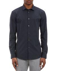 John Varvatos Small Paisley-print Shirt - Lyst