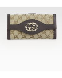 Gucci Sukey Continental Wallet - Lyst