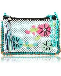 M Missoni Crocheted Shoulder Bag - Lyst