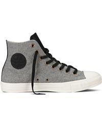 Converse Felt Hi Top Sneakers - Lyst