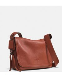 Coach Dakotah Crossbody in Pebbled Leather - Lyst