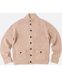 Billy Reid Reverse Cardigan - Lyst