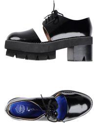 Jeffrey Campbell Lace-Up Shoes black - Lyst