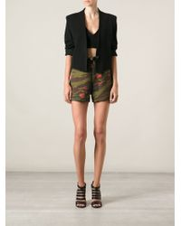 Jean Paul Gaultier Camouflage Shorts - Lyst