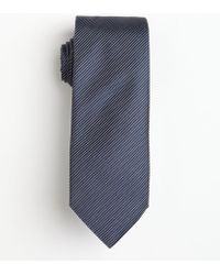 Hugo Boss Dark Blue Micro Striped Silk Tie - Lyst