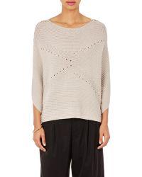 Tess Giberson - Women's Horizontal Rib-knit Jumper - Lyst
